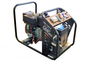 Photo of diesel genset GML11000TE.