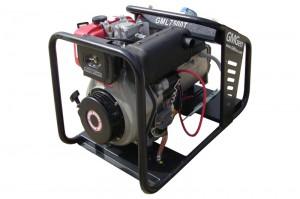 Photo of diesel genset GML7500T.