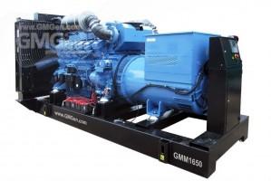 Foto di gruppo elettrogeno diesel GMM1650 HV10.5.