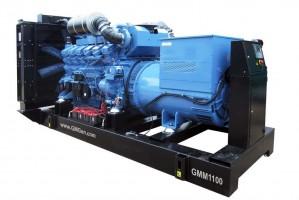 Foto di gruppo elettrogeno diesel GMM1100 HV10.5.