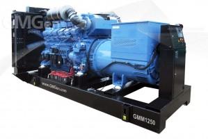 Foto di gruppo elettrogeno diesel GMM1250 HV10.5.