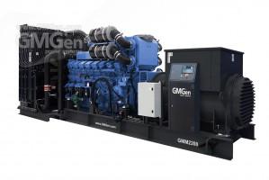 Foto di gruppo elettrogeno diesel GMM2200 HV10.5.