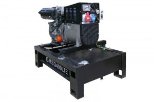Photo of diesel welding generator GMSD400LTE.