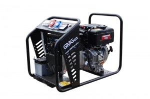 Photo of diesel welding generator GMSD200YTE.