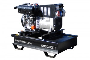Photo of diesel welding generator GMSD300LTE.