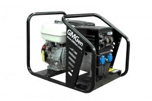 Photo of gasoline welding generator GMSH160.