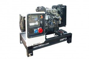 Photo of diesel genset GMP15.