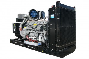 Photo of diesel genset GMP1500.