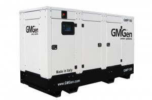 Photo of diesel genset GMP150 in canopy.