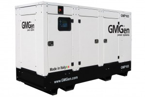Photo of diesel genset GMP165 in canopy.