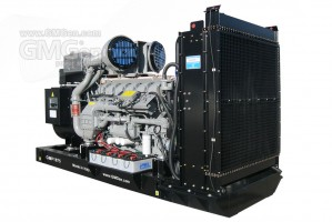 Photo of diesel genset GMP1875.