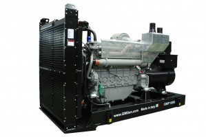 Photo of diesel genset GMP1000.