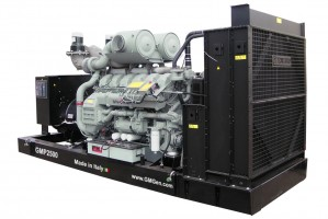 Photo of diesel genset GMP2500.