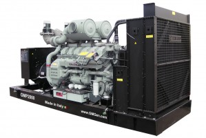 Photo of diesel genset GMP2000.