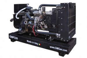 Photo of diesel genset GMP220.