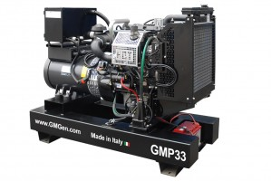 Photo of diesel genset GMP33.