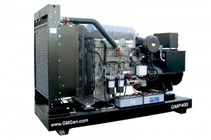 Photo of diesel genset GMP400.