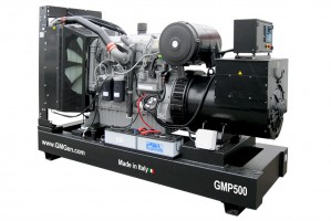 Photo of diesel genset GMP500.