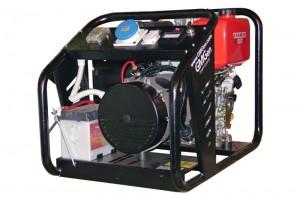 Photo of diesel genset GMY4500E.