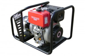 Photo of diesel genset GMY7000.